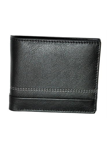 Single fold Leather Wallet
