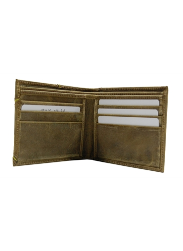 Vintage finish leather Wallet