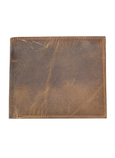 Brown Vintage finish Leather Wallet