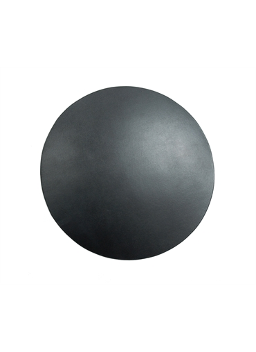Round Leather Table Mat