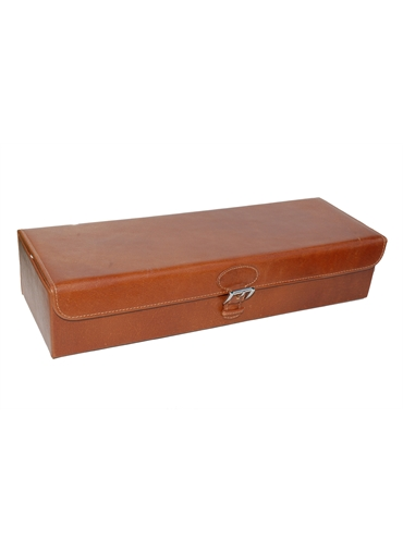 Leather Travel Watch Case and Jewelry Box